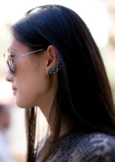 NYFW Spring 2014 street style: A few must have statement accessories