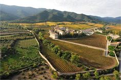 Monastery of Poblet, Cara Nord of Prades Mountains . Cara Nord celler