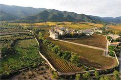 Monastery of Poblet, Cara Nord of Prades Mountains . Cara Nord celler