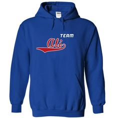 Team Ali - #gift ideas #gift table. LIMITED TIME PRICE => https://www.sunfrog.com/LifeStyle/Team-Ali-bhlbhnylou-RoyalBlue-19975332-Hoodie.html?68278