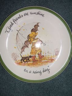 Vintage Holly Hobbie Collectors Edition Plate by by Andie83, $22.00