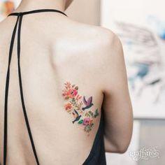 Tattoo by River- South Korea