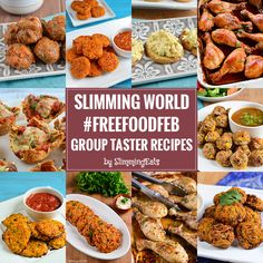 Slimming World Group FreeFoodFeb Taster Recipes - It's February which can only mean one thing to anyone following Slimming World. It is #FreeFoodFeb.