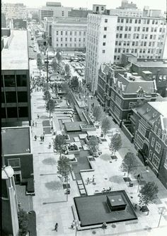 G street in front of the MLK Jr. Memorial Library was a pedestrian plaza