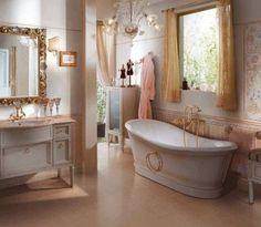 Cork Bathroom Flooring In Elegant Bathroom Design.