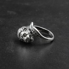 Excited to share the latest addition to my #etsy shop: Sterling Silver Lion Head Ring, Men/Women Twisted Greek Ring, Unisex Adjustable Statement Ring, Men's Jewelry, Leo Gift, Greek Jewelry #silver #unisexadults #sterlingsilverring #lionjewelry #leogift #menring #lionheadring #menjewelry #unisexjewelry