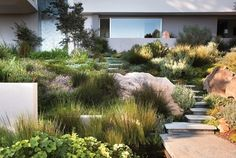 perfect terrace garden by Rees Roberts + Partners LLC - Country