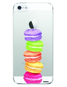coque iphone   Pack essentiel motif Macaron iPhone 5 5S   Batterie de  secours 2600mAh . 30abe2428a95