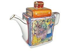 """Alice in Wonderland Classic Stories"" Teapot by James Sadler"