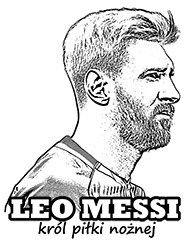 Obrazki Do Kolorowania Z Pilkarzami Sports Coloring Pages Messi Coloring Pages