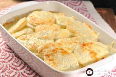 Baked potatoes with cream - Modern Cocina Natural, Cooking Recipes, Healthy Recipes, Cooking Ideas, Drink Recipes, Mexican Dishes, Cream Recipes, Potato Recipes, Macaroni And Cheese