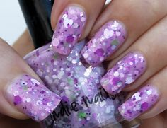 Jindie Nails, Barney Blew Up.  Pic credit to Nail Art by Pink!