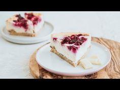 Sernik z wiśniami na spodzie kokosowym - Słodka Kuchnia Pszczółek - YouTube Cheesecake, Youtube, Desserts, Food, Tailgate Desserts, Deserts, Cheese Pies, Cheesecakes, Meals