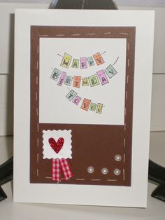 Made With Amore  by Vera Jorge: Happy birthday to you card