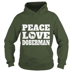 Peace Love #Doberman Dark T Shirt Grandpa Grandma Dad Mom Boy Girl Lady Dog Dobie Pinscher  Lover, Order HERE ==> https://www.sunfrog.com/Pets/125526667-730952785.html?6789, Please tag & share with your friends who would love it, #renegadelife #superbowl #jeepsafari  #doberman pinscher natural ears, doberman pinscher funny, doberman pinscher blue  #family #posters #kids #parenting #men #outdoors #photography #products #quotes