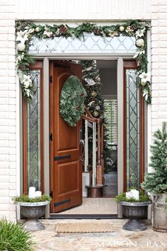 If blogger Rachel's front door doesn't take your breath away, surely the rest of her holiday home will.  See the full tour at Maison de Pax.    - CountryLiving.com