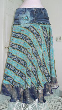 #swoon.... jean skirt #2dayslook #jean style #jeanfashionskirt www.2dayslook.com