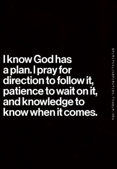 I love this! I'm so stubborn and need to do things my way. It's good to be reminded who's really in charge. More