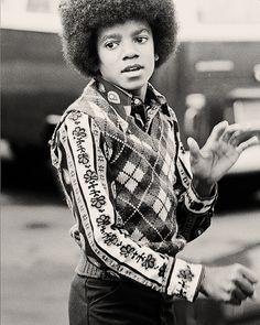 Michael Jackson circa 1970's