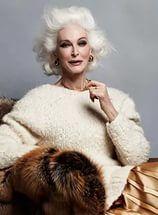 Carmen Dell'Orefice for Harper's Bazaar Thailand September 2014 issue.