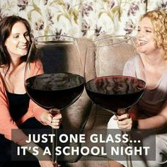 Just 1 glass