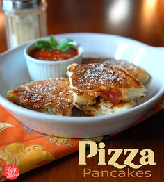 Pizza Pancakes dippe