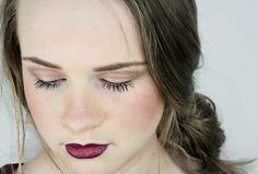 Bold Lip, natural eye, MAC. MUA Kimberley McCann