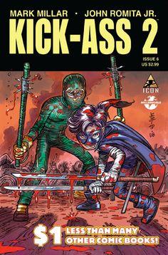 kick ass comic books covers   Kick Ass 2 Comic Book Cover   BeyondHollywood.com