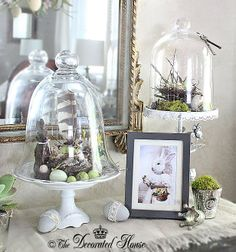 The Decorated House - Easter Cloches & Abigail Bunny Art