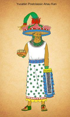 Yucatan Postclassic Ahau Kan by Kamazotz on DeviantArt