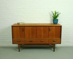 Compact G Plan sideboard - great for the hallway or living room, very retro.