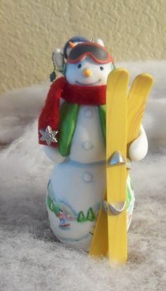 Another snowman from my Hallmark Christmas ornament collection