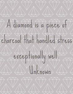 """We are all about self-care here at Courage To Connect. How do you handle stress? """"A diamond is a piece of charcoal that handles stress exceptionally well."""" Messages,My heart,Quotes and Sayings,Quotes Great Quotes, Quotes To Live By, Me Quotes, Inspirational Quotes, Motivational Monday, Wisdom Quotes, The Words, Cool Words, How To Handle Stress"""