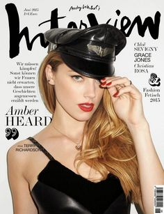 Amber Heard Covers Interview Germany June 2015