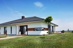 Dom w bodziszkach Dream House Plans, Smart Home, House Design, Design Homes, Bungalow, Outdoor Decor, Home Decor, Houses, Cottage