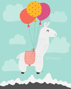Dream by @lyndammetcalf #llama