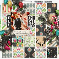 2015 Connor Finds Perfect Tree by Iowan using digital scrapbooking products from the Lilypad