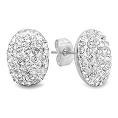 The Yafa stud earring from Duval & Company are made from solid stainless steel. Amazon Gifts, Love Ring, Christmas Shopping, Cute Jewelry, Cool Gifts, Terry Riley, Jewelery, Classically Trained, Bling