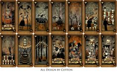 Tarot card - Suit of cups by CottonValent on DeviantArt