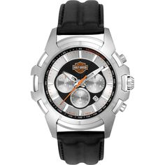 Harley-Davidson® Men's Spider Collection Watch – Silver Face. Sweep Second Hand. Harley Davidson Watches, Harley Davidson Jewelry, Fine Watches, Cool Watches, Watches For Men, Wrist Watches, Men's Watches, Bulova Mens Watches, Fashion Belts