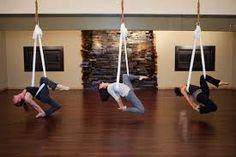 aerial yoga or fly gym idea