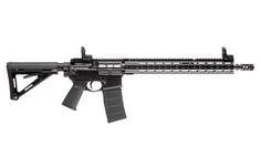 """PWS MK116 300 BLK Rifle $1,949.95 Weight: 6lbs 13oz, Overall Length: 33"""", Barrel Length: 16"""", Muzzle Velocity: 2444 ft/sec, Muzzle Energy: 1459 ft-lbs Muzzle Triad 30. The shortest of the non-NFA models with a removable muzzle device, the PWS MK116 Rifle is a crowd favorite. The MK116 is designed for a multitude of uses and retains lethal capability out to 500 meters with varying types of ammunition. Kahles 1-6x"""