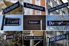 Was Hamburgs skurrile Straßennamen bedeuten: Historisches Hamburg - WELT