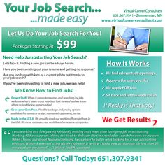 Your Job Search Made Easy | @lewmaster | www.webcontempo.com