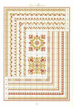 Cross Stitch Boarders, Cross Stitch Samplers, Cross Stitch Charts, Cross Stitch Designs, Cross Stitching, Cross Stitch Embroidery, Cross Stitch Needles, Cross Stitch Rose, Modern Cross Stitch