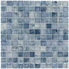 "Angelica, 1"" x 1"" - Glass Tile"