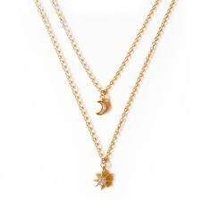 My Moon and My Stars Necklace - Oia Jules