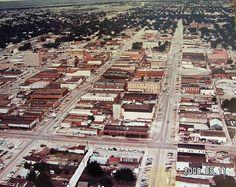 Lawton, Oklahoma - Downtown - Circa 1964 by duggar11, via Flickr