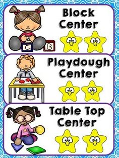 This classroom management freebie includes:Center Management: Center Management…