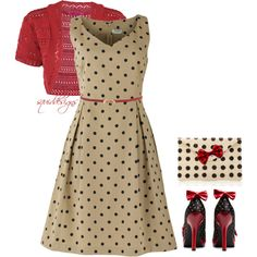 I'm seeing spots, created by squiddesigns on Polyvore